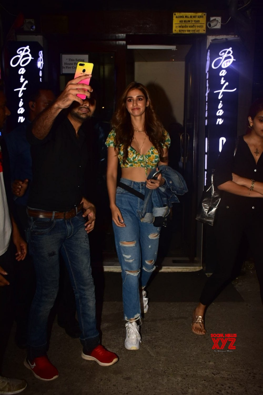 Mumbai: Disha Patani seen at a restaurant #Gallery