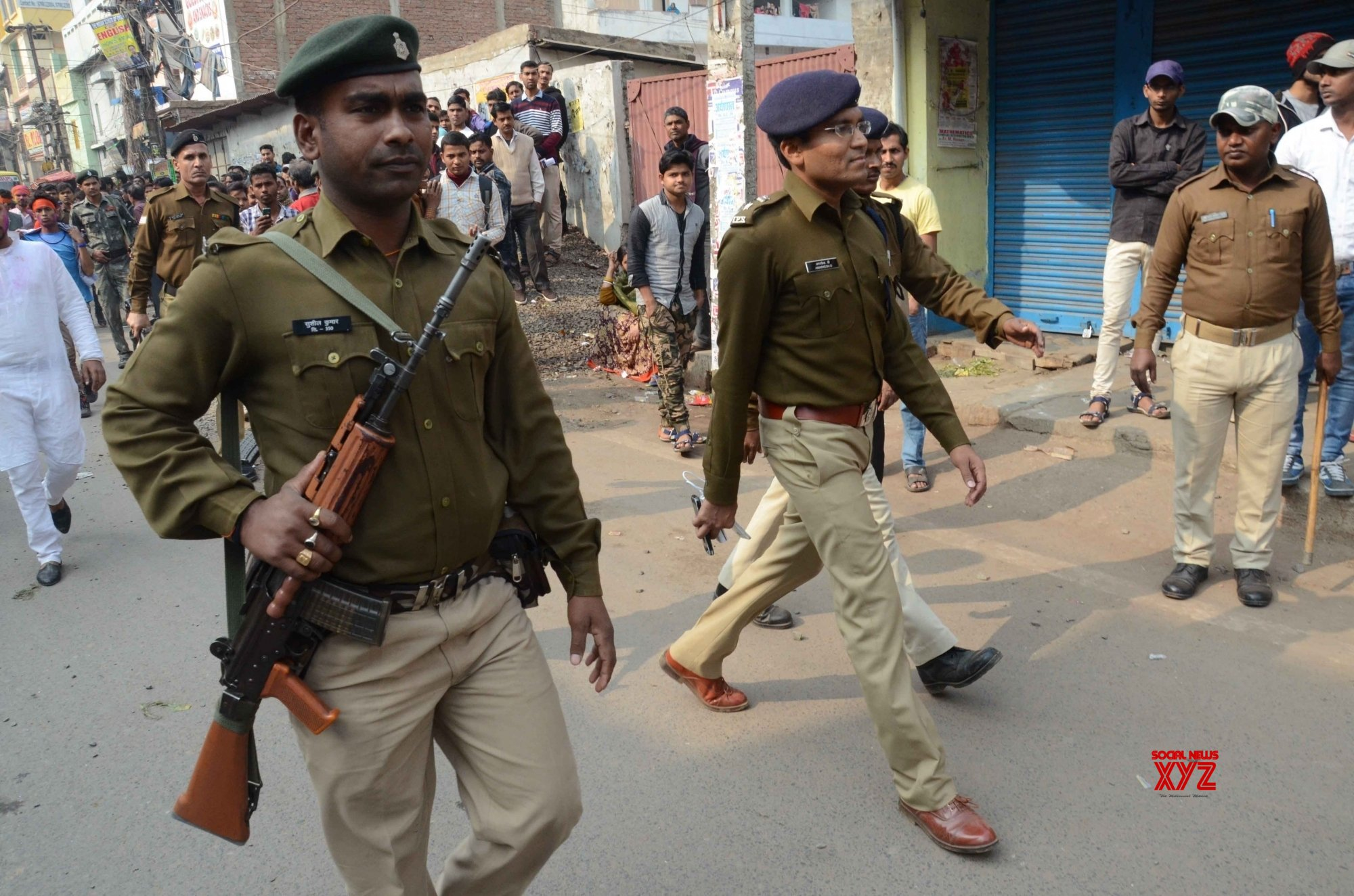 50 arrested after clashes in Bihar
