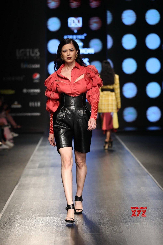 New Delhi: Lotus Make - up India Fashion Week - Day 4 - Sameer Madan's collection showcased #Gallery