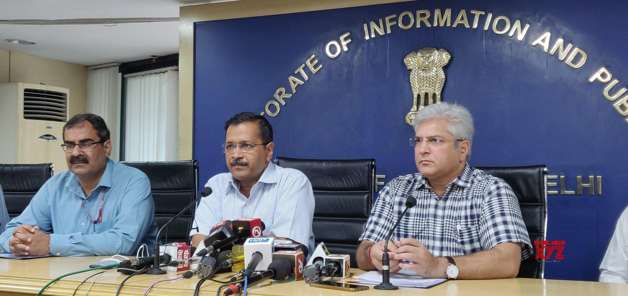 New Delhi: Arvind Kejriwal's press conference #Gallery
