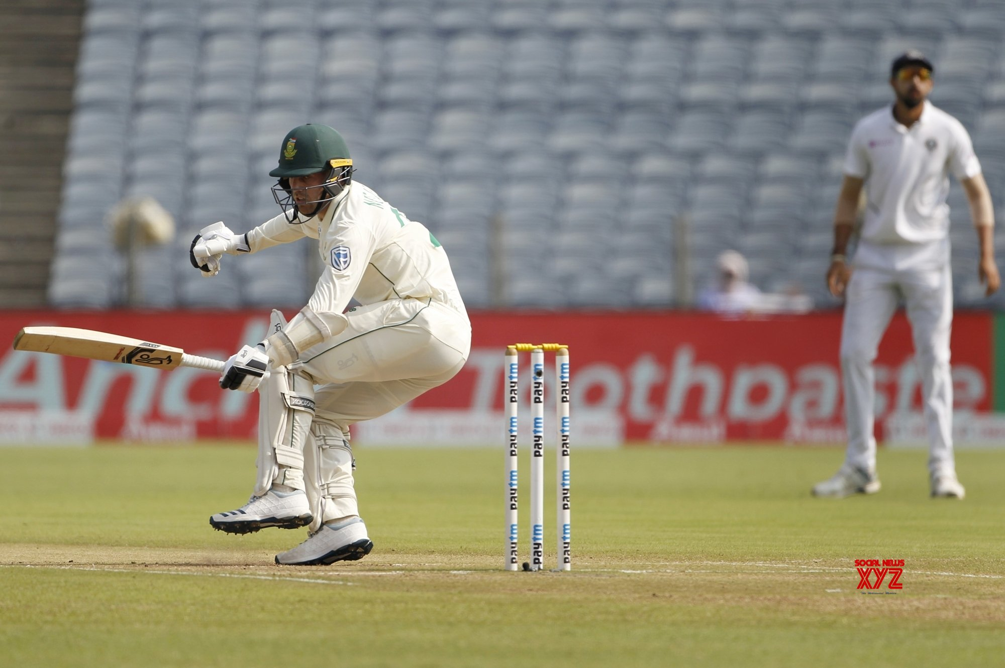 Pune: 2nd Test - India Vs South Africa - Day 3 (Batch - 1) #Gallery