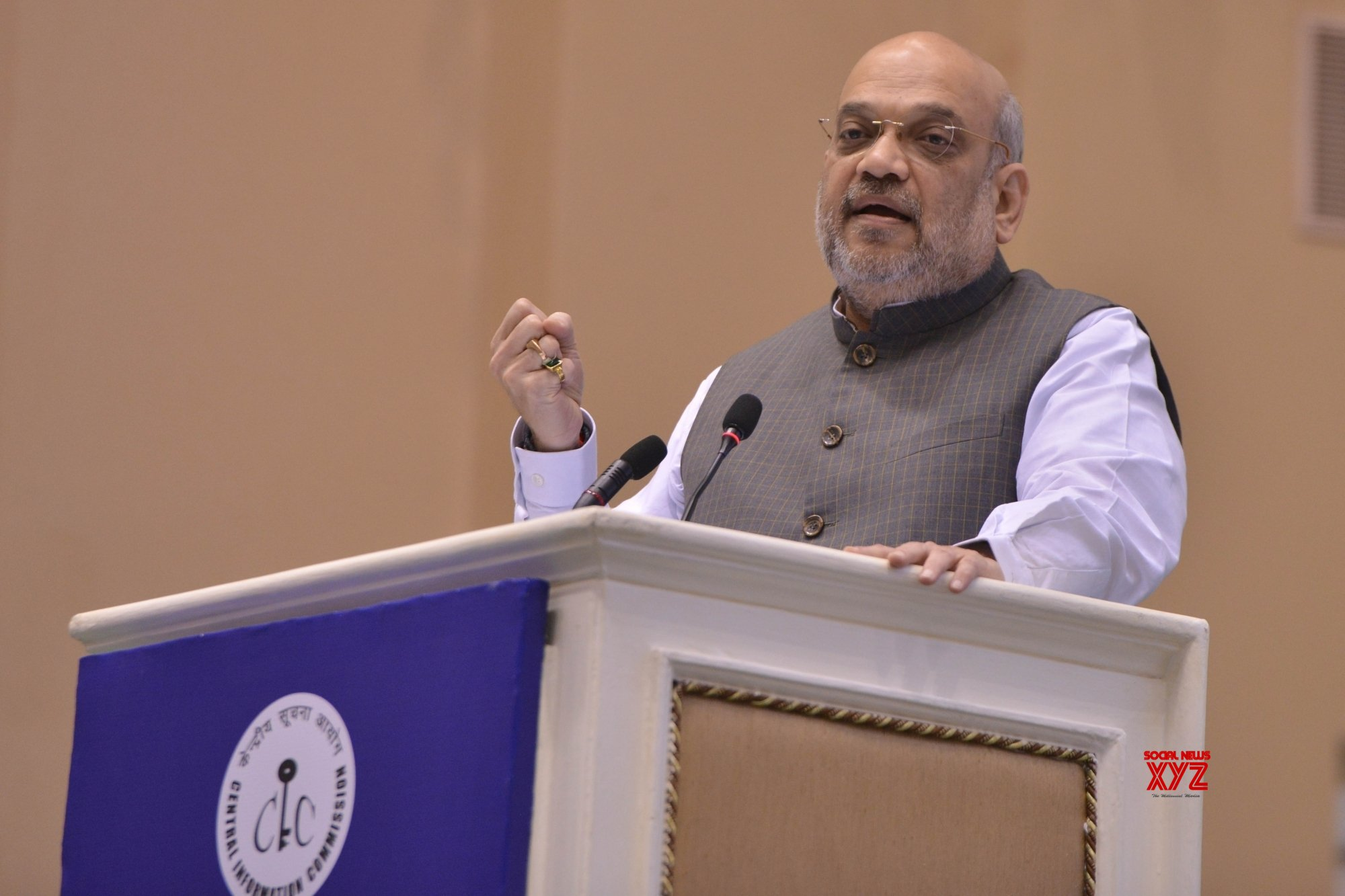 Centre's motive is to minimise RTI applications: Shah