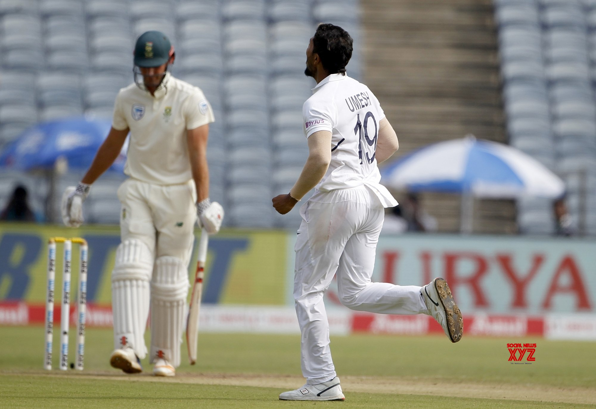 Pune: 2nd Test - India Vs South Africa - Day 3 (Batch - 5) #Gallery