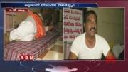TDP MLA Nimmala Ramanaidu Protest at Municipal Office  [HD] (Video)