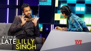 A Little Late With Lilly Singh: Kal Penn Lied About His Basketball Skills [HD] (Video)