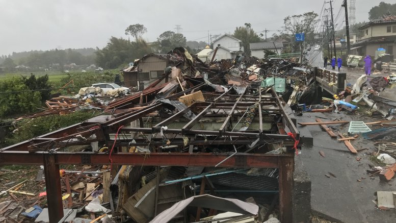 Japan hit by worst storm in decades