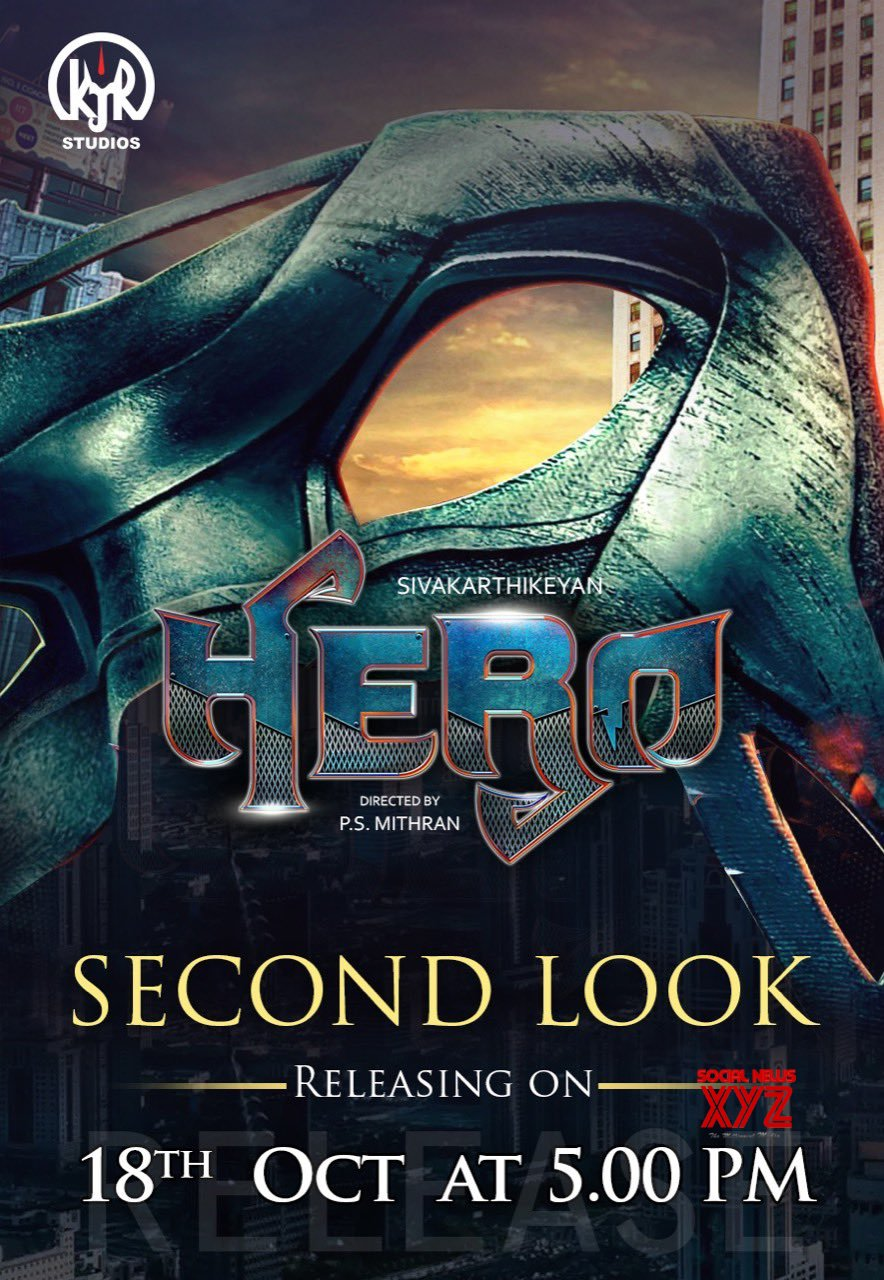 Image result for siva karthikeyan's next is hero and second look poster