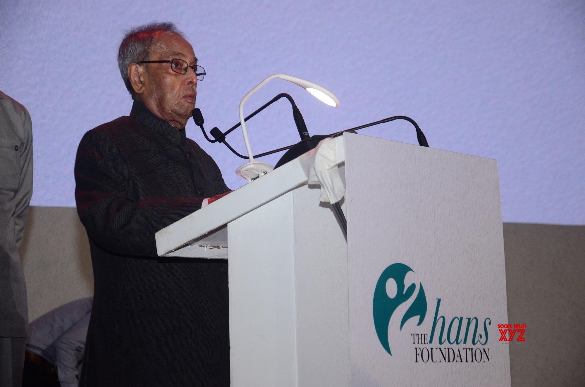 New Delhi: Hans Foundation's 10th anniversary - Pranab Mukherjee #Gallery