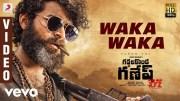 Gaddalakonda Ganesh (Valmiki) - Waka Waka Video | Varun Tej, Atharvaa, Mickey J Meyer (Video)