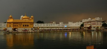 Amritsar: A view of the Golden Temple on an overcast day in Amritsar on Nov 7, 2019. (Photo: IANS)