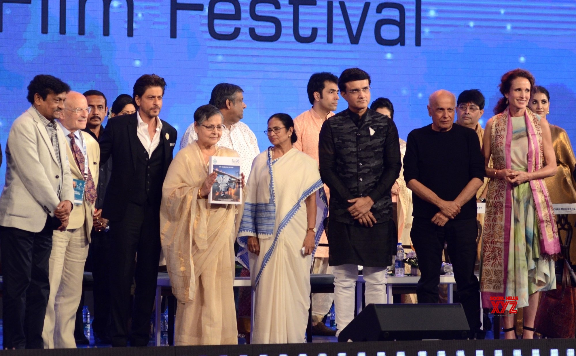Kolkata: Inaugural session of 25th Kolkata International Film festival (Batch - 2) #Gallery