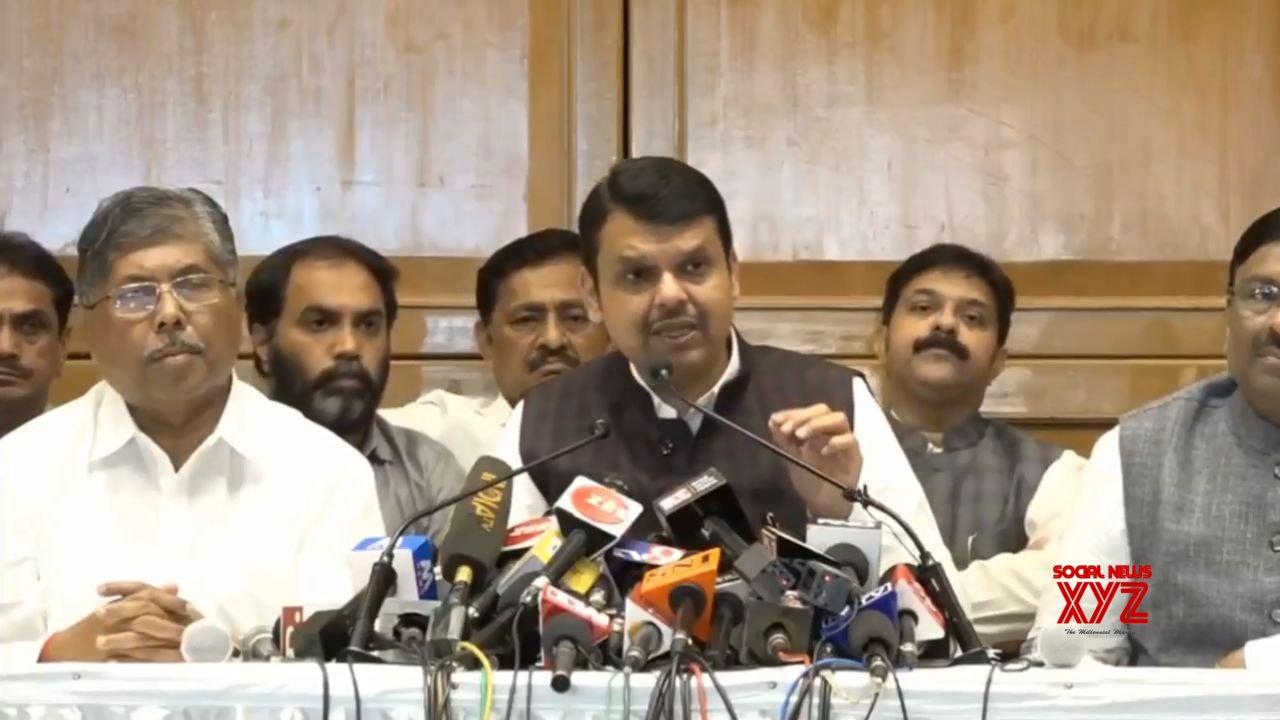 Mumbai: No talk of sharing CM's post with Sena: Fadnavis #Gallery