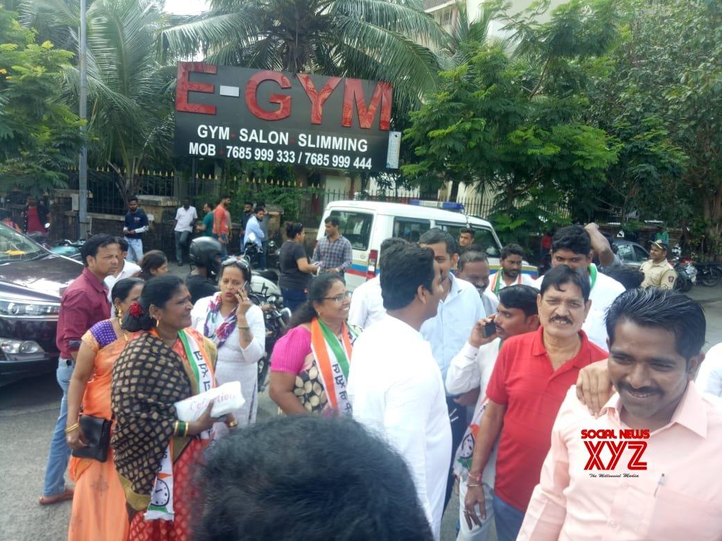 Mumbai: Chhatrapati Shivaji Maharaj 'insulted' on KBC, NCP protests #Gallery