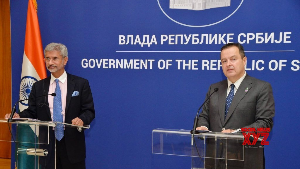 New Delhi: India, Serbia - joint press conference #Gallery