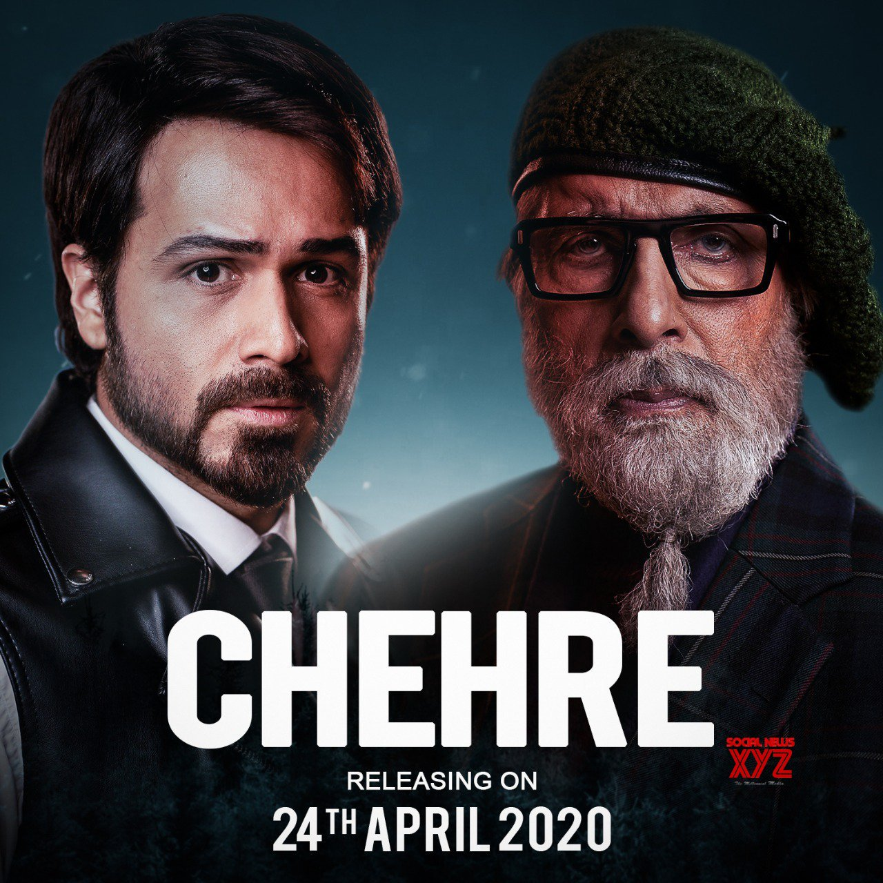 Amitabh Bachchan And Emraan Hashmi's Chehre Movie First Look Poster