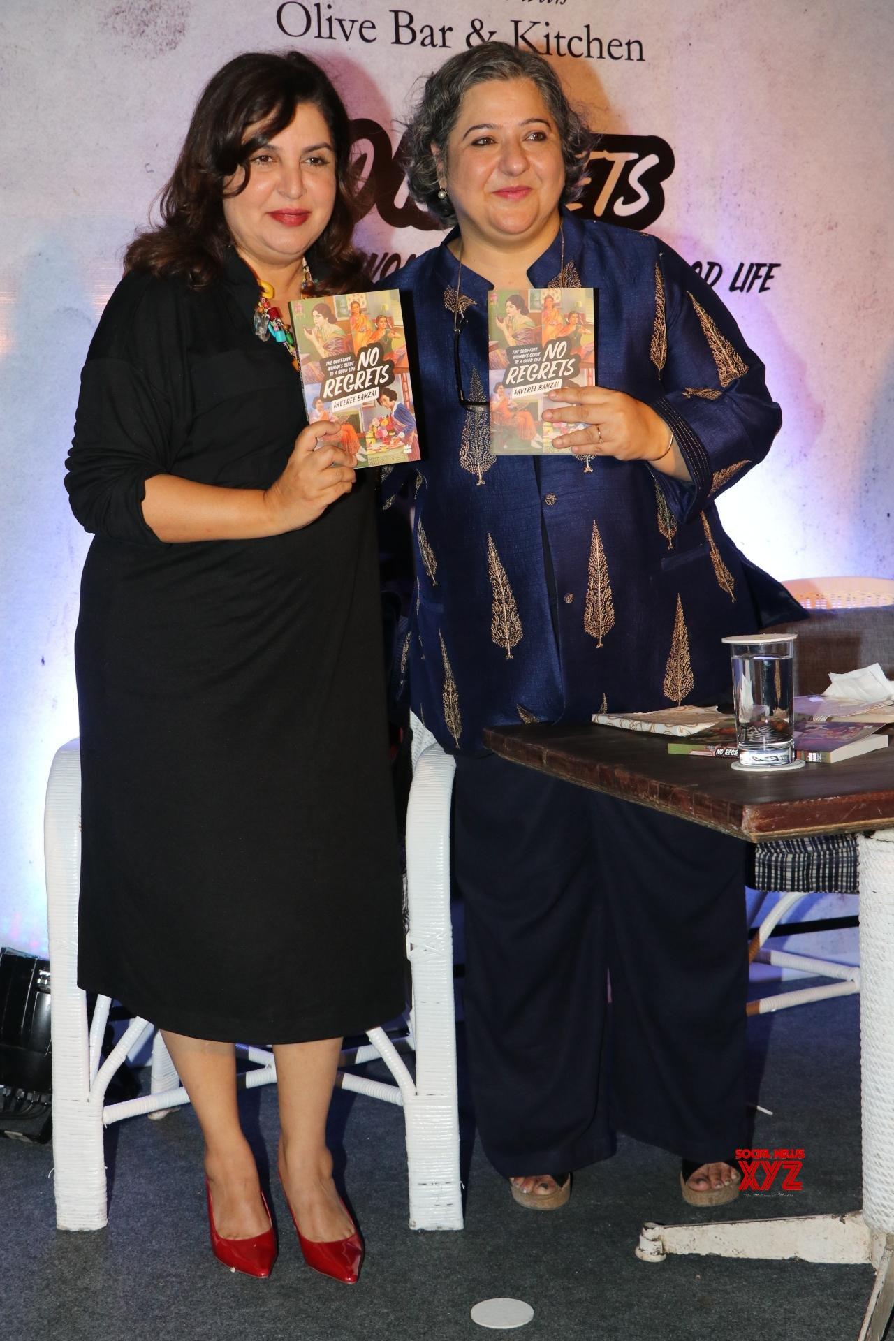 Farah Khan At The Of Author Kaveree Bamzai's No Regrets Book Launch Gallery