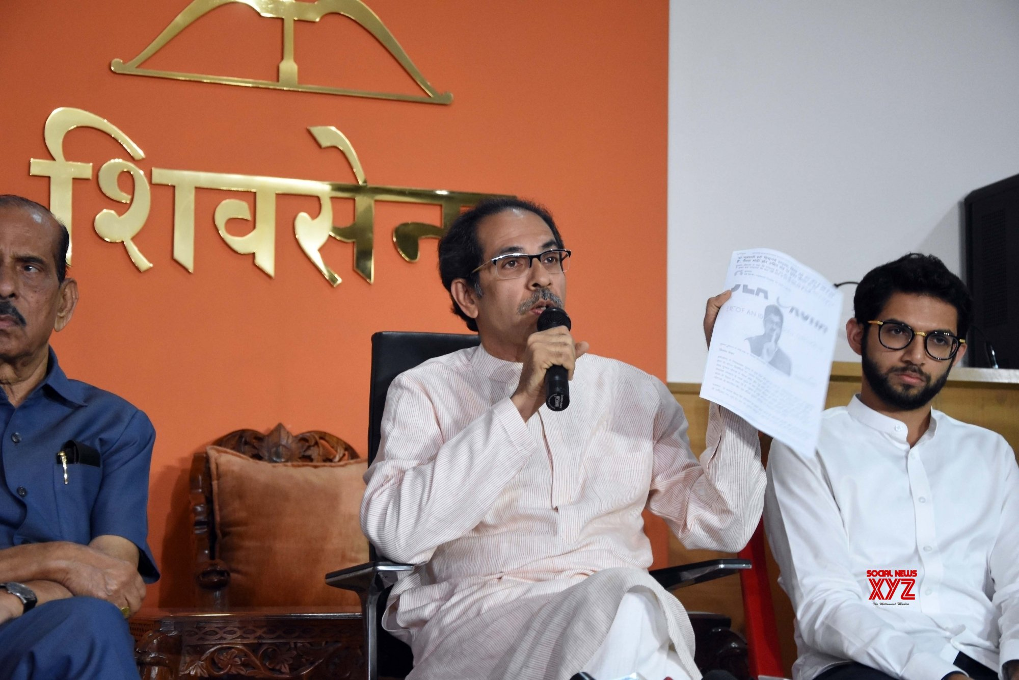 Mumbai: Uddhav Thackeray's press conference (Batch - 2) #Gallery
