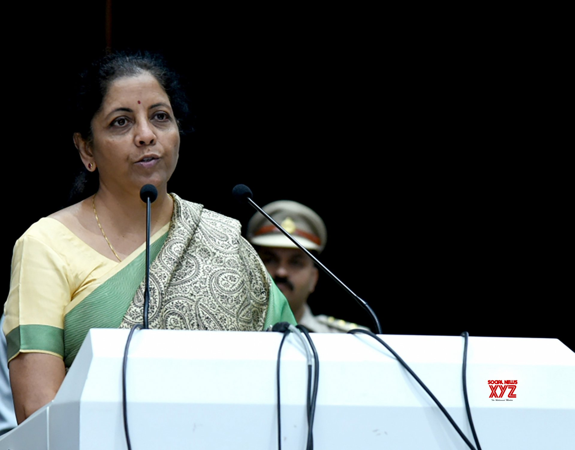 Faridabad: Nirmala Sitharaman at Passing Out Parade Ceremony of 69th Batch of IRS #Gallery