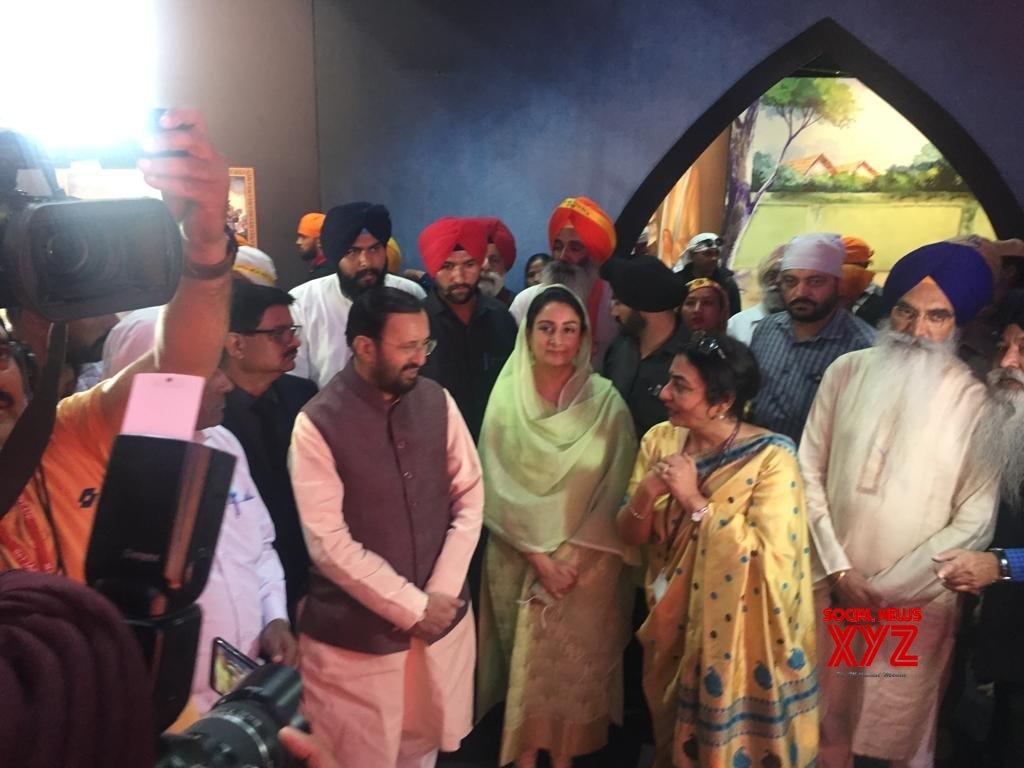 Sultanpur Lodhi: Prakash Javadekar, Harsimrat Kaur Badal visit Digital Multi - Media Exhibition in Punjab #Gallery