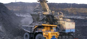Coal mine.