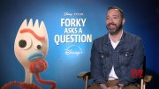 Forky Asks A Question || Tony Hale Generic Interview || #SocialNews.XYZ  (Video)