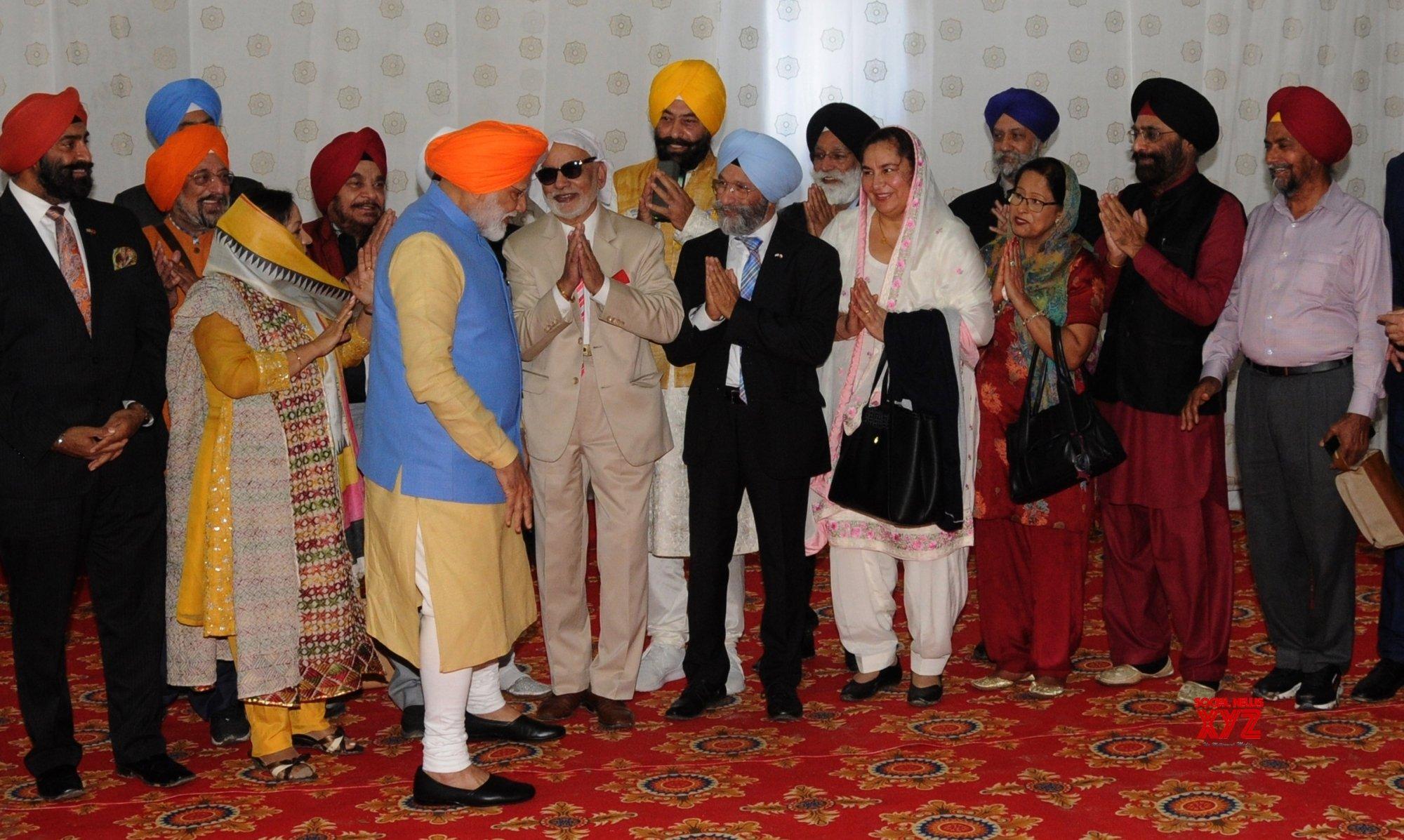 Dera Baba Nanak (Punjab): PM Modi at the inauguration of Kartarpur Sahib #Gallery