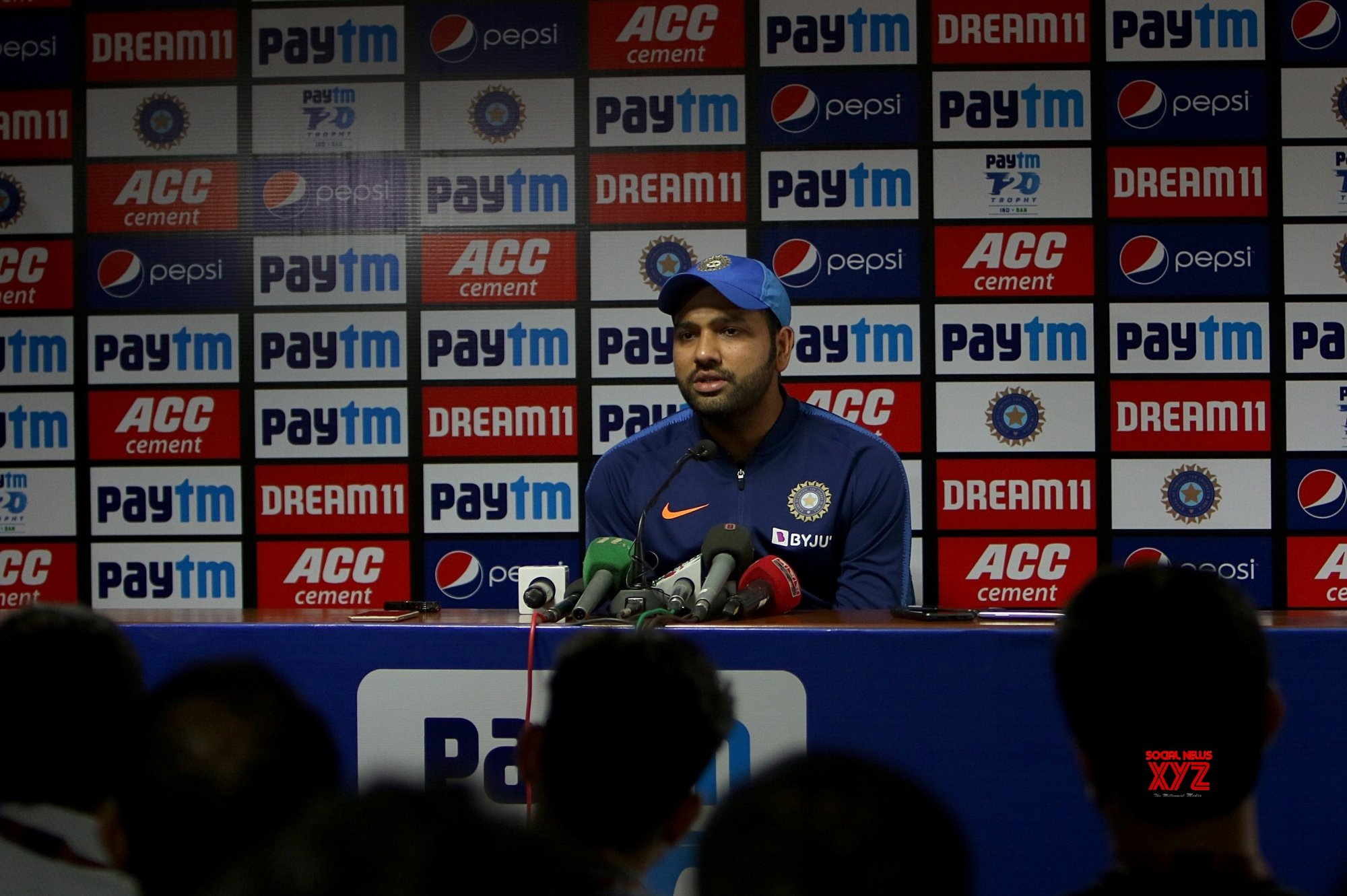 Nagpur: Rohit Sharma's press conference #Gallery