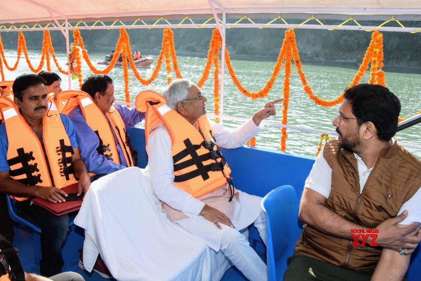 Betiah: Nitish Kumar visits Valmiki National Park #Gallery