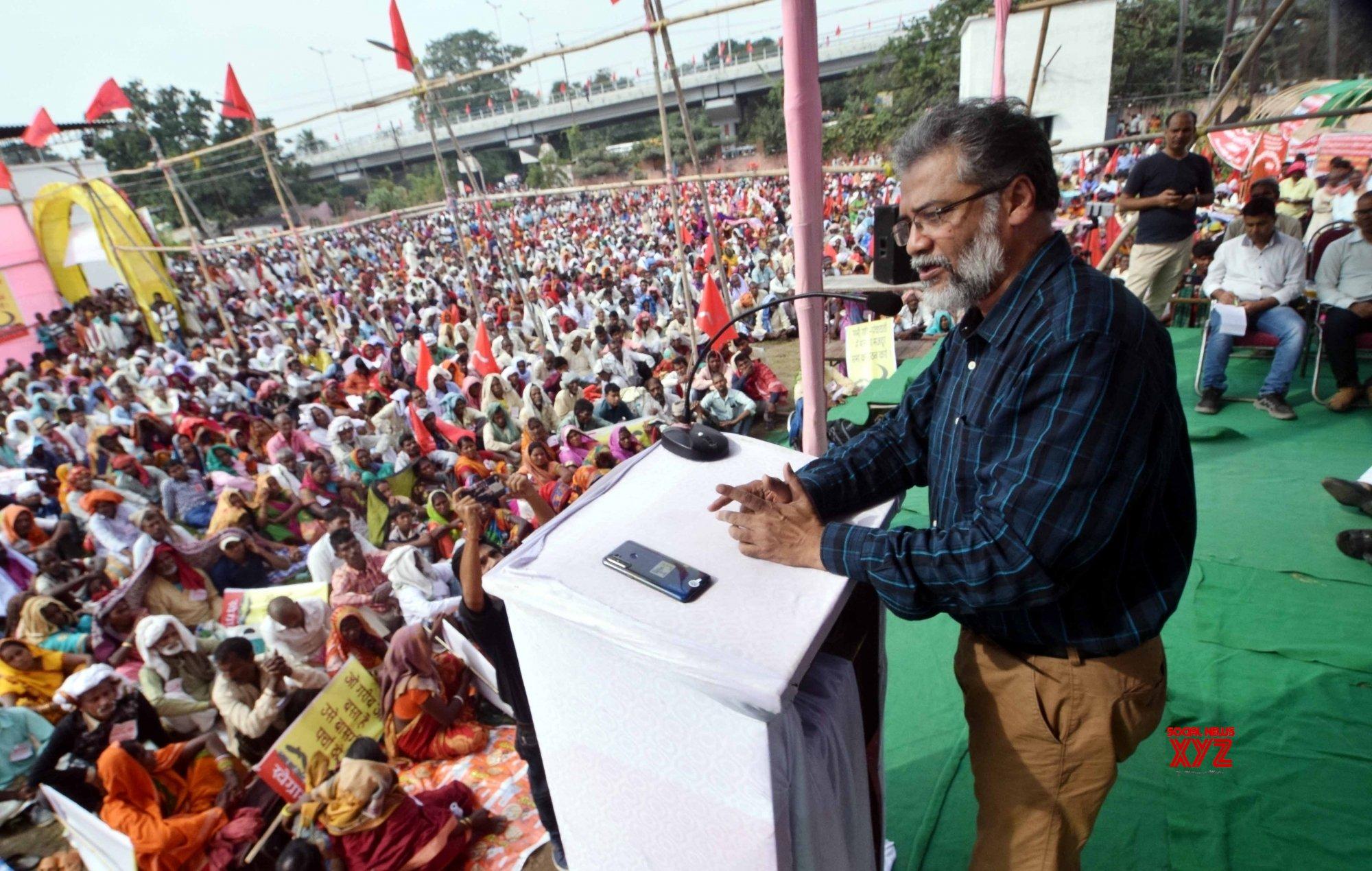 Patna: Dipankar Bhattacharya addresses public meeting #Gallery