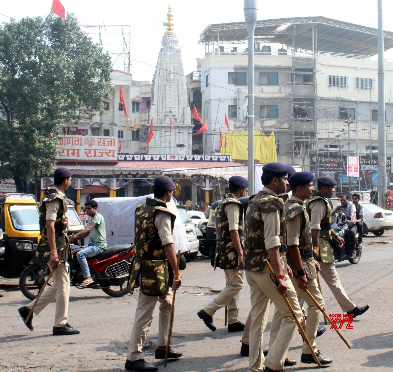 Bhopal: Ayodhya verdict - Prohibitory orders clamped in Bhopal #Gallery