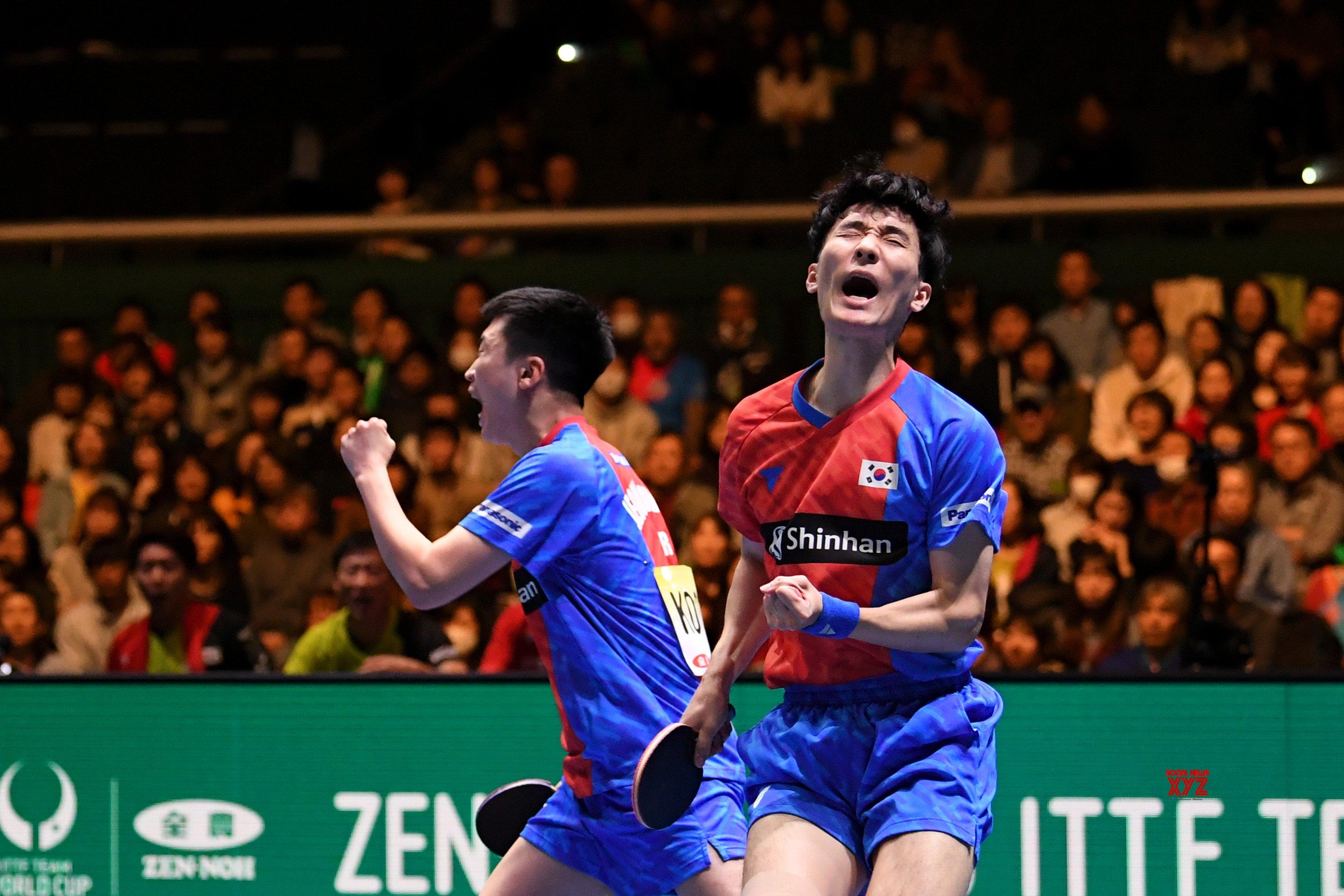 JAPAN - TOKYO - TABLE TENNIS - ITTF TEAM WORLD CUP #Gallery