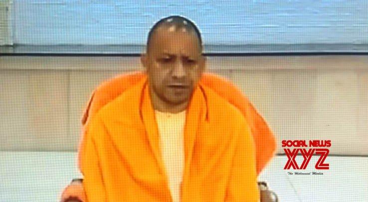 Lucknow: Yogi Adityanath talks to the media on SC's Ayodhya verdict #Gallery