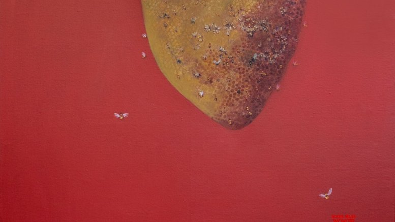 On canvas, an exploration of home
