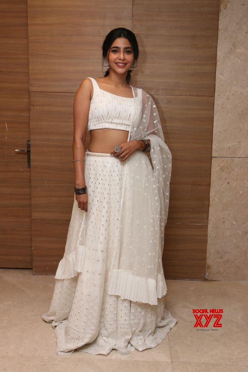 Actress Aishwarya Lekshmi Hot Stills From Action Movie Pre Release Event