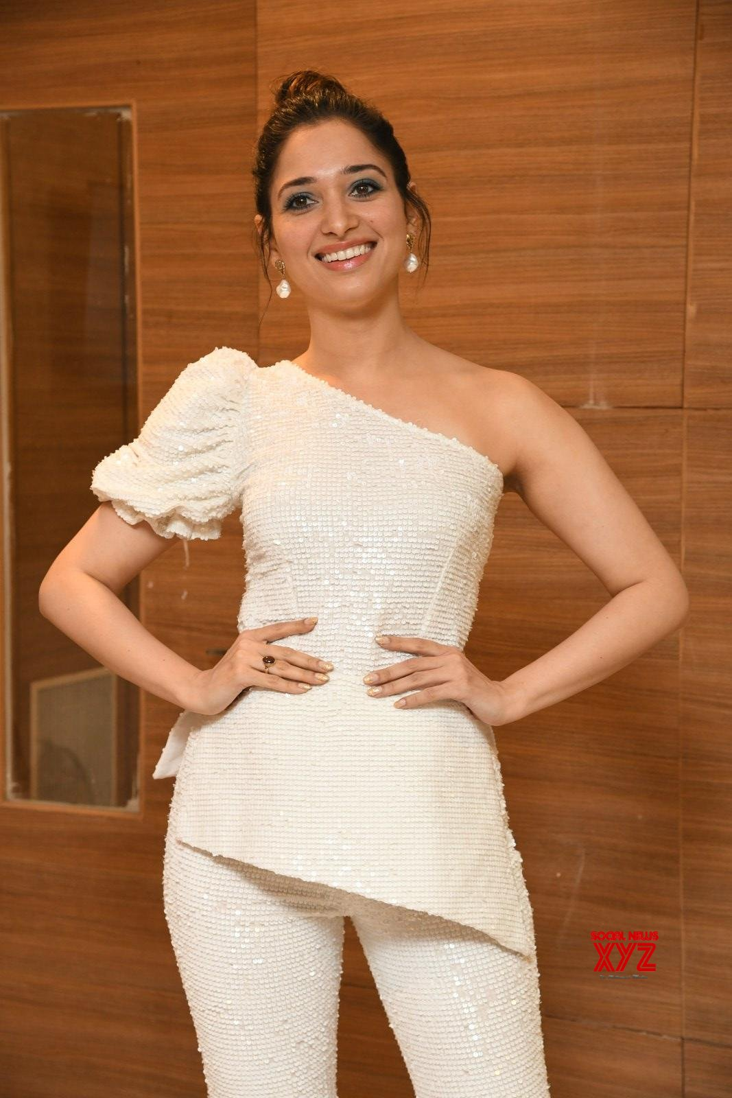 Actress Tamannaah Bhatia Stills From Action Movie Pre Release Event
