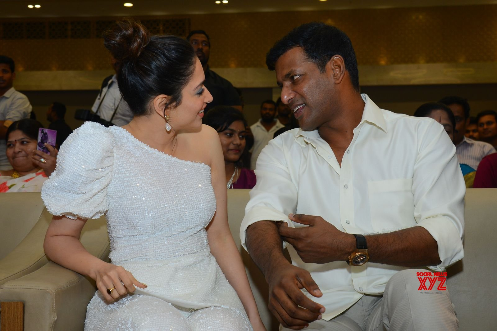 Vishal's Action Movie Pre Release Event Gallery