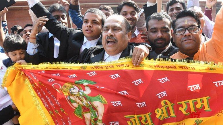 Celebrations in parts of Ayodhya despite govt warning