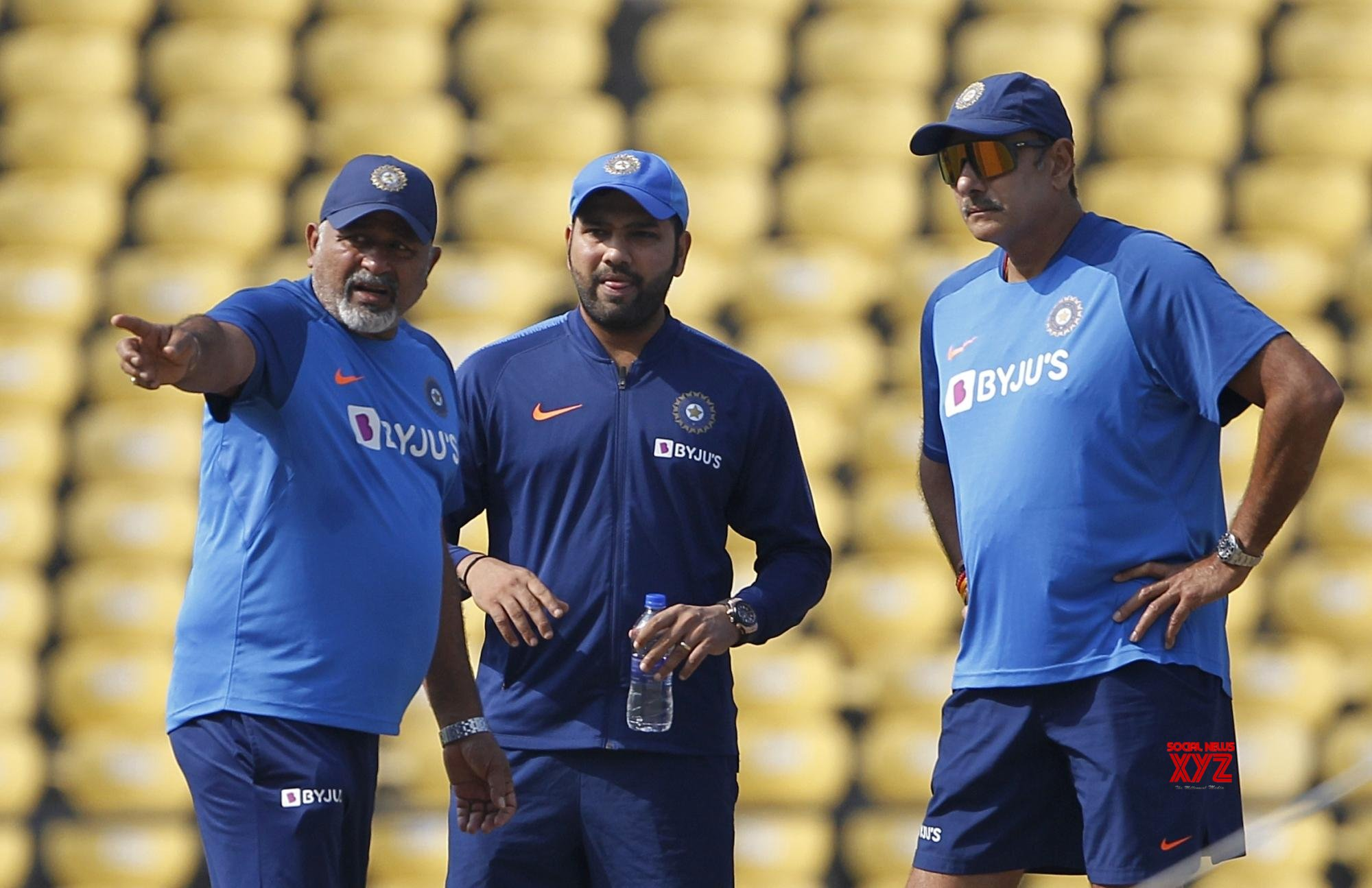 Nagpur: India practice session #Gallery