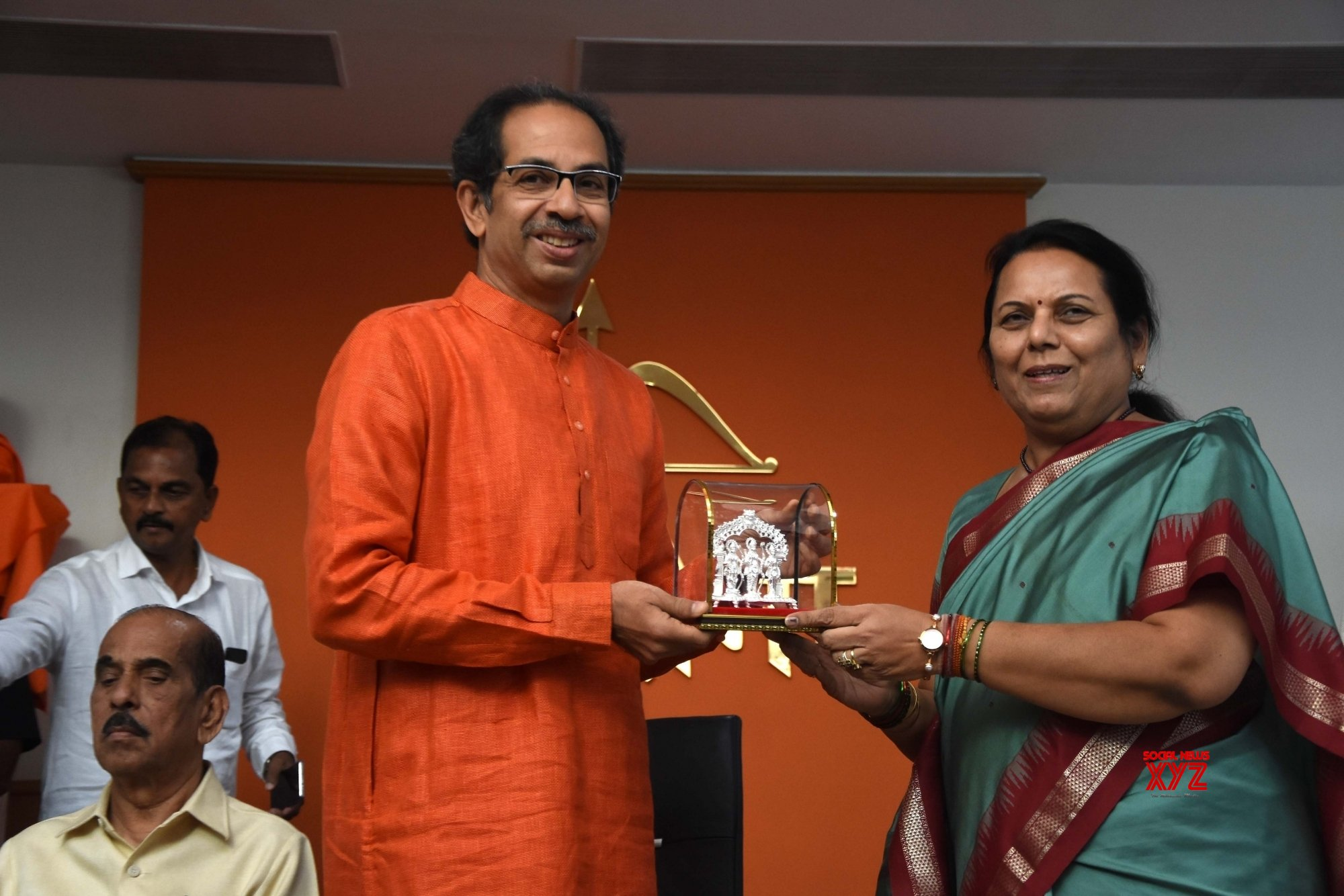 Mumbai: Uddhav Thackeray's press conference on SC's Ayodhya verdict #Gallery