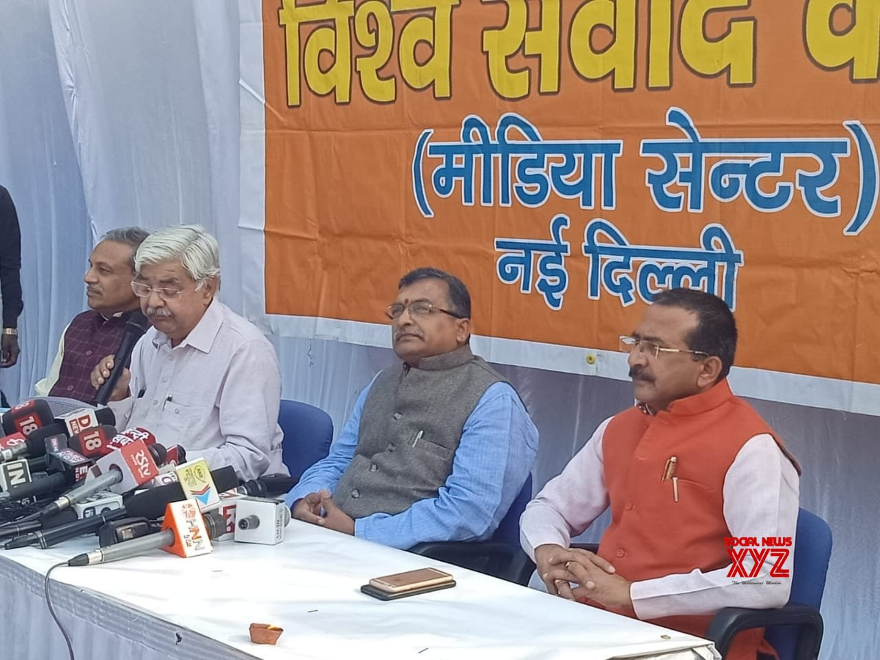 New Delhi: VHP press conference (Batch - 2) #Gallery