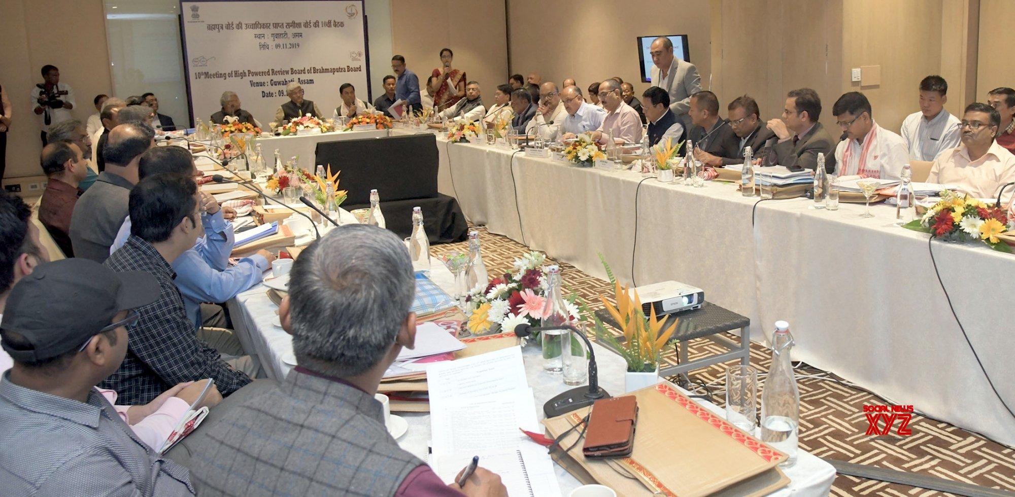 Guwahati: Gajendra Singh Shekhawat chairs 10th High Powered Review Board Meeting of Brahmaputra Board #Gallery