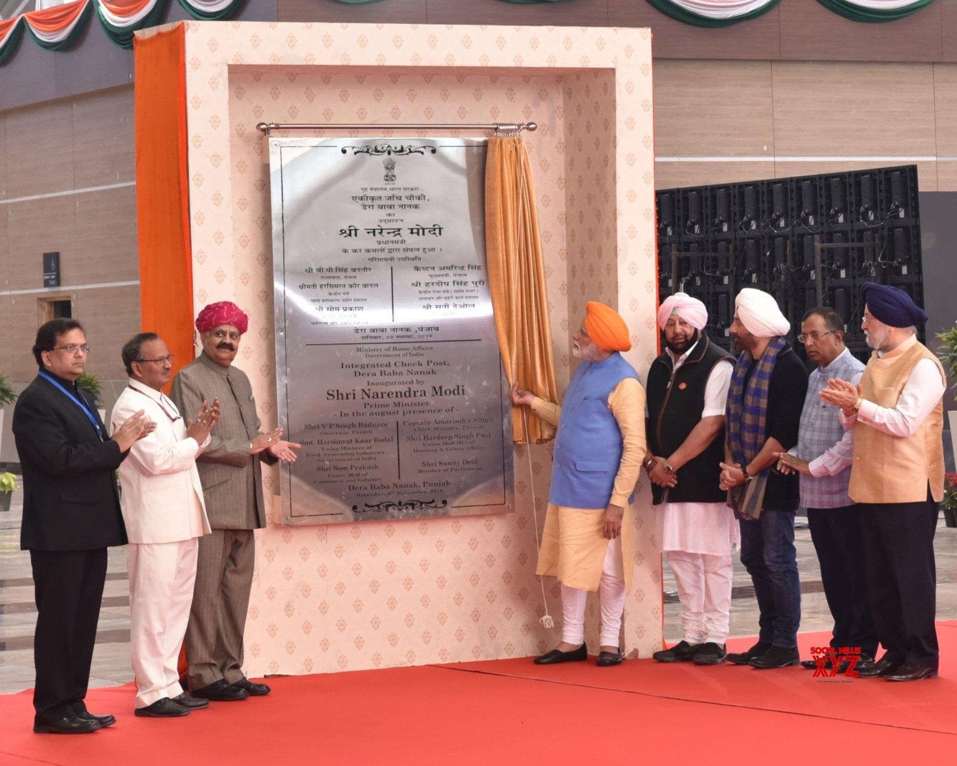 Dera Baba Nanak (Punjab): PM Modi at a programme in Dera Baba Nanak (Batch - 3) #Gallery