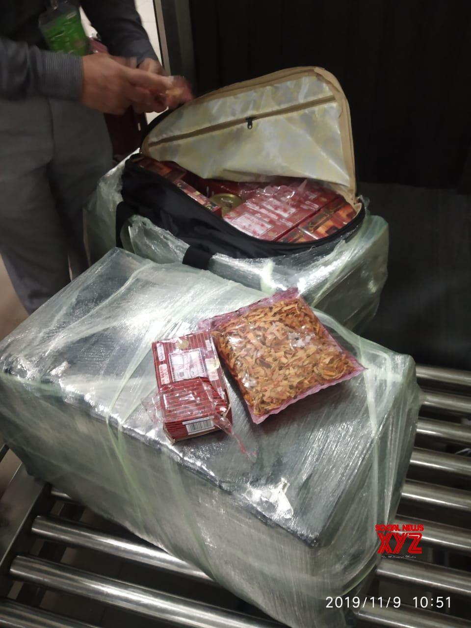 Hyderabad: CISF apprehended 44 kg sandalwood #Gallery