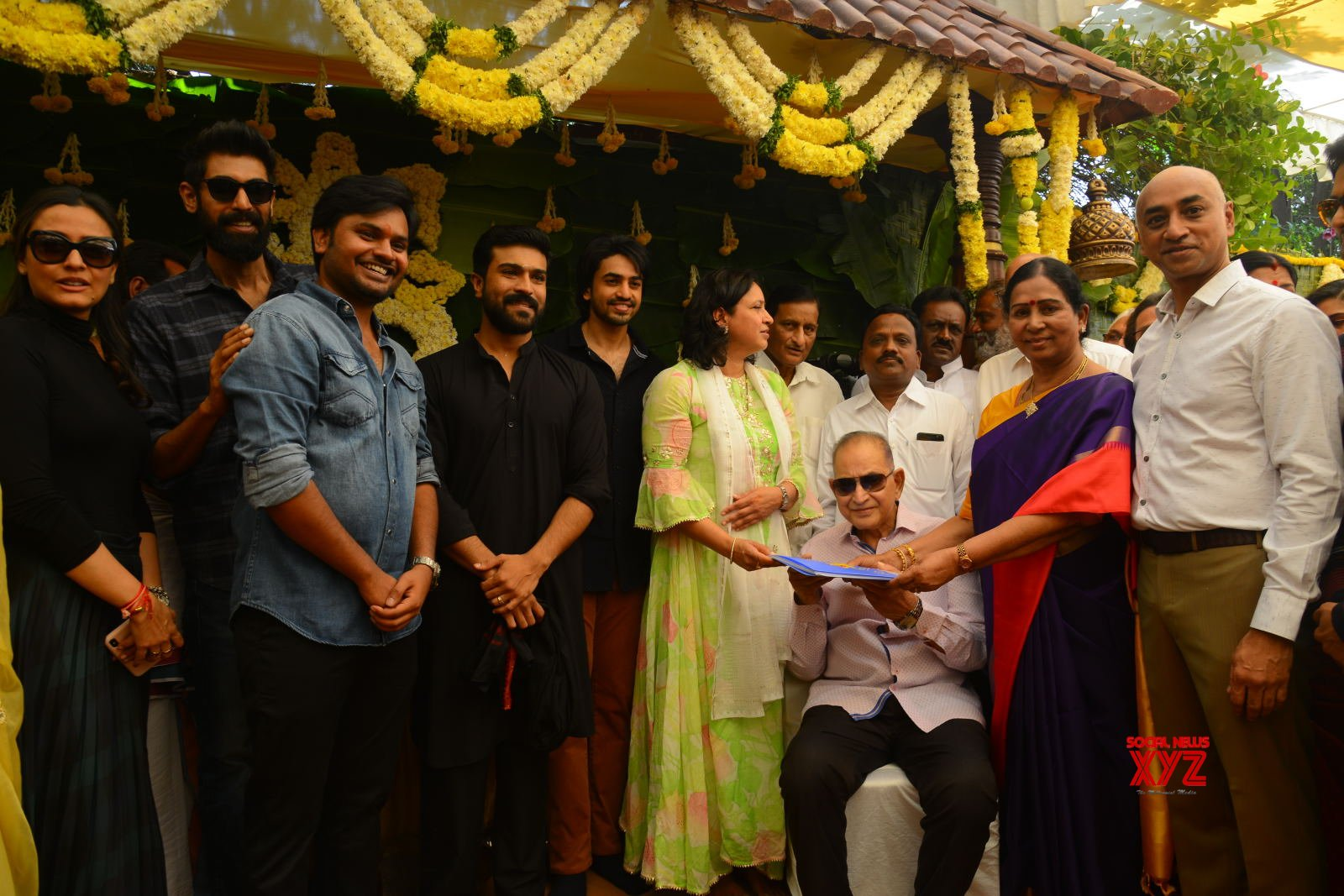 Ashok Galla Debut Movie Opening Gallery Set 1