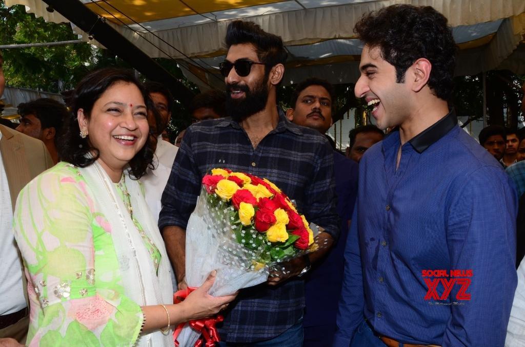 Ashok Galla Debut Movie Launch Stills