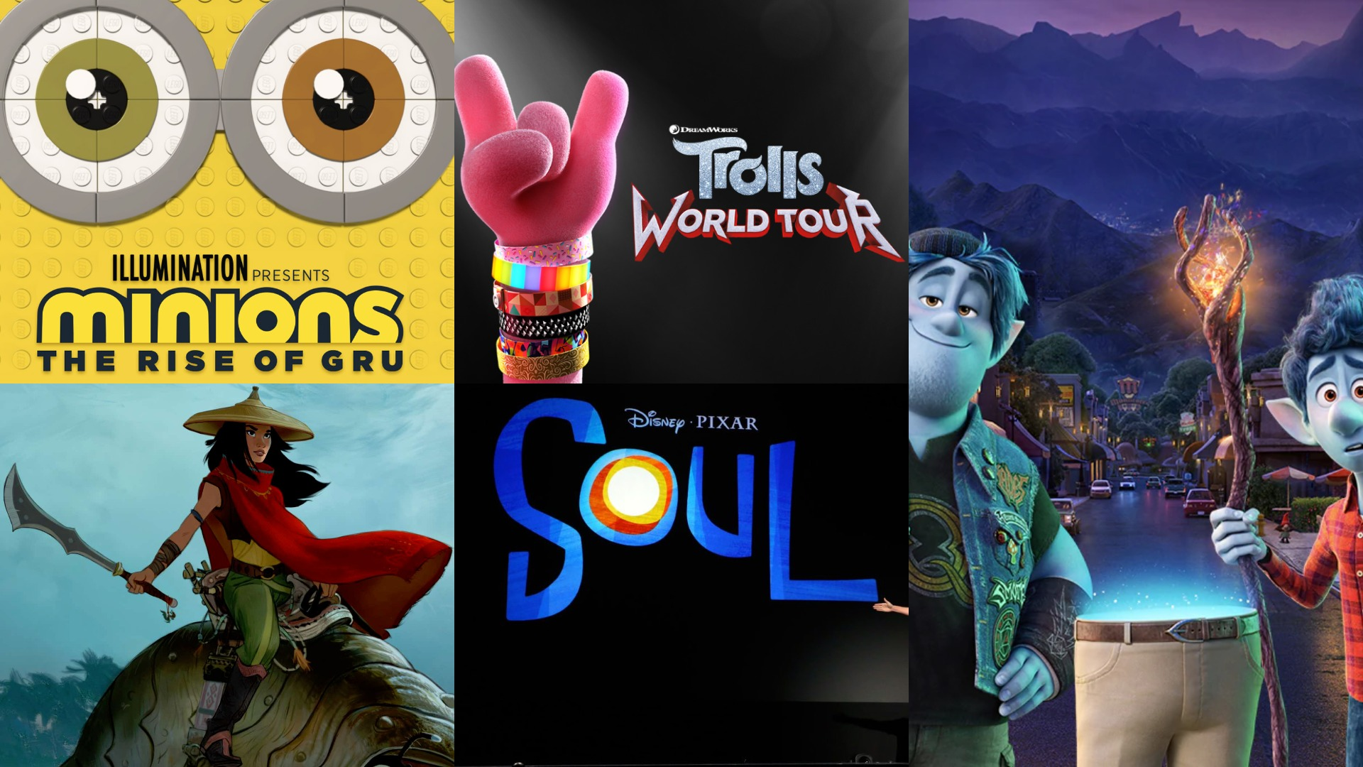 Hand-Picked Animation Movies For 2020 - Editor's Pick