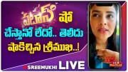 VCR Multiplex: Anchor Sreemukhi About Her Re Entry In Patas Show (Video)