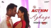 Action   Azhage Video Song   Vishal, Aishwarya Lekshmi   Hiphop Tamizha   Sundar.C (Video)