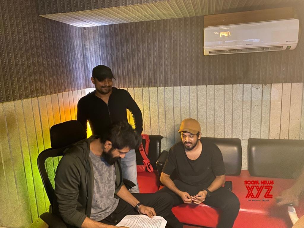 Photos: Rana Daggubati Raps For The Telugu Version Of Lights Camera Action From Action Movie