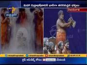 Maha Rudrabhishekam At Punnami Ghat   Vijayawada  (Video)